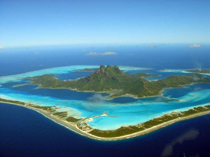 Остров Бора-Бора, Французская Полинезия - Куда Угодно, но не как попало!