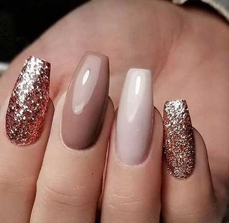 Stylish Long Coffin Shape Nail Arts – Nageldesign 2018