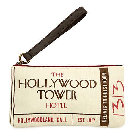 Hollywood Tower Hotel Wristlet | Disney Store