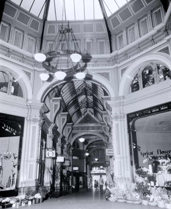 Interior of the Block Arcade, Melbourne, Vic. / Bruno Bernini. 1960's/70's