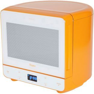 Whirlpool Max 35 Microwave With Steamer Function Orange At Argos Co Uk