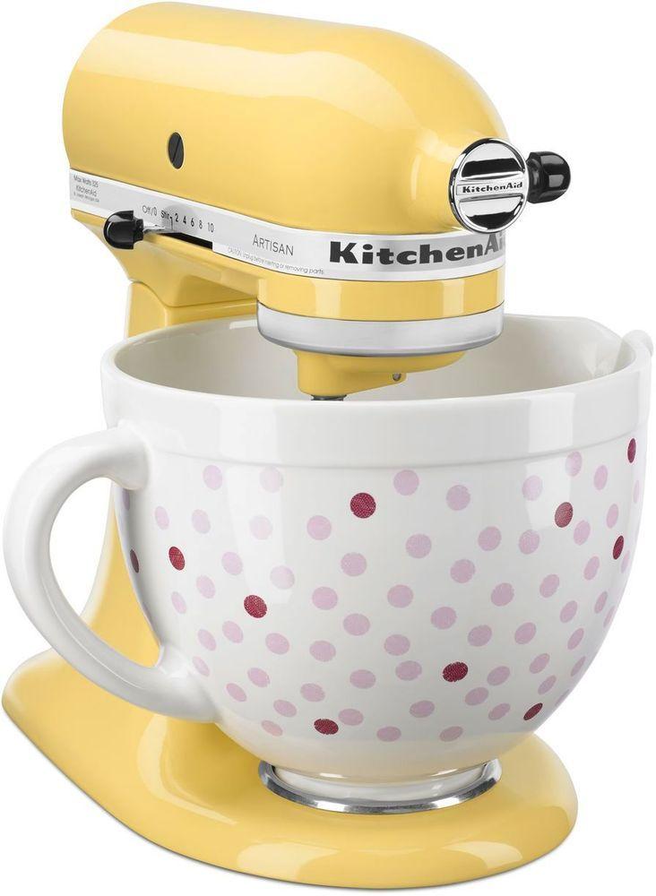Kitchenaid Ksm150psmy Artisan Series Tilt Head Stand Mixer Majestic Yellow Ksm150psmy Pink Kitchen Kitchen Aid Kitchen Aid Mixer