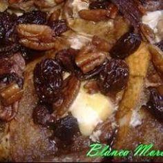 Capirotada Estilo Sonora @ allrecipes.com.mx (Mexican Bread Pudding)