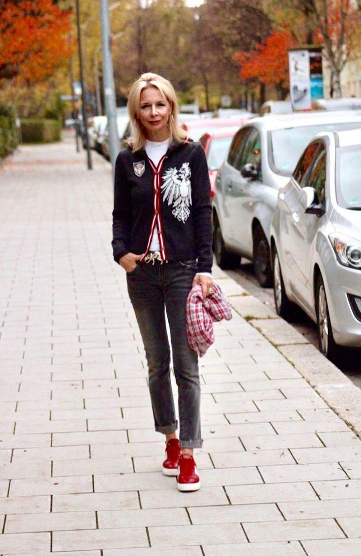 Frauen Herbstmode Trends Street Styles # fallfashionforwomenover60 # fashionover50womenfiftynotfrumpy