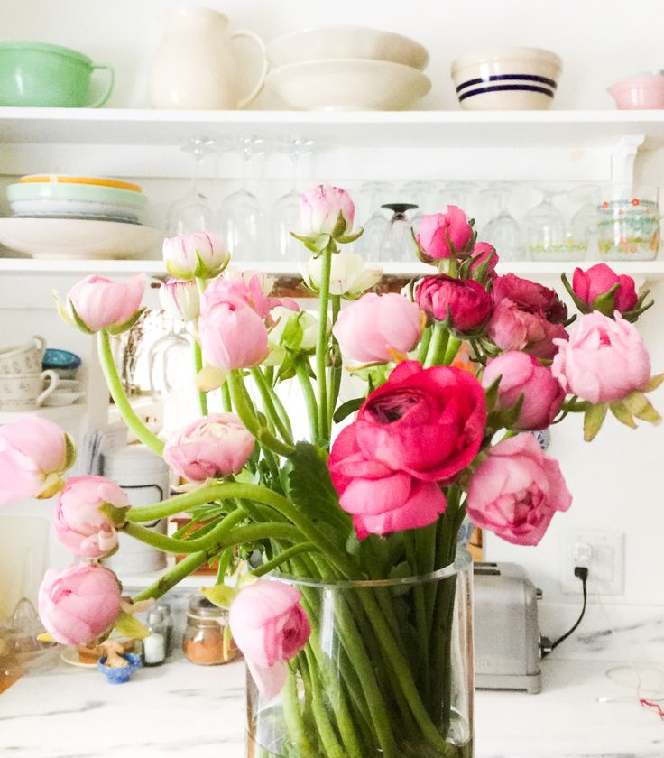 Inspire by Nest Pretty Things — Pink Ranunculus