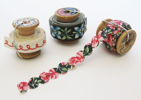 If you love Japanese washi tape, why not make your own?!- don't think I'll do it exactly like this- but gave me some ideas...
