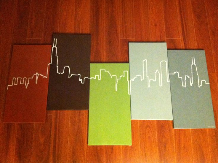 chicago skyline abstract - Google Search