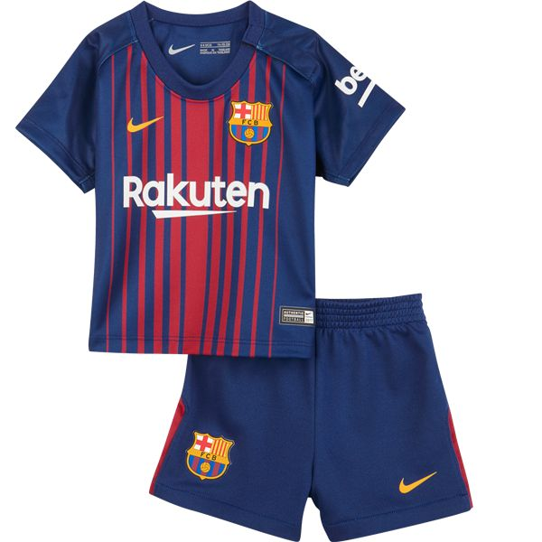Barcelona Home Kids Soccer Kit This is theBarcelona Home Kids Football Kit for the 17/18 season.Help your little one show their support for one of the world's greatest football teams by kitting them out in this FC Barcelona 17/18 Kids Home Football Kit, made by Nike. After losing the La Liga crown last season Barcelona […]