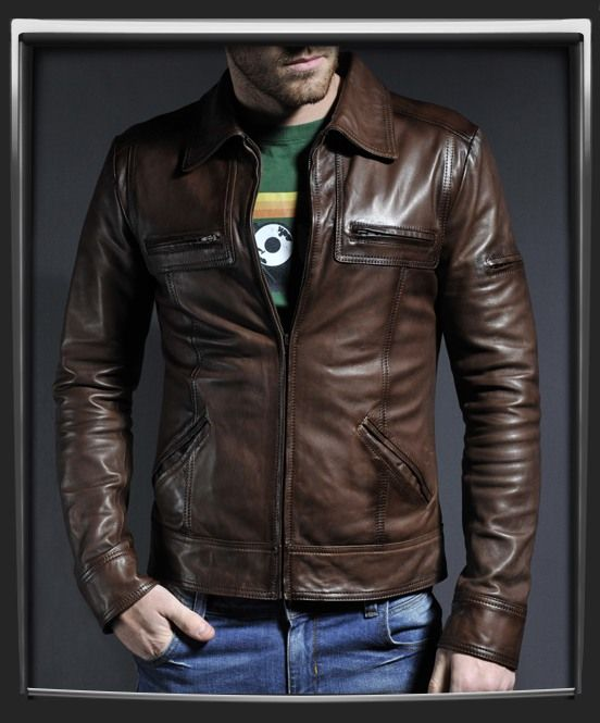 17 Best images about Leather on Pinterest | Vintage style, Men's ...