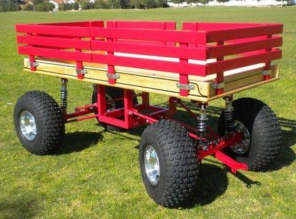 Baja 4-Link Suspension Wagon 24x48 Knobby