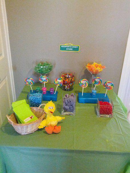 Mr. Hooper's Candy Store - candy buffet
