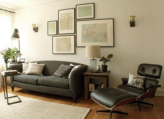 Decorating Theme Living Room Nicholas 39 1920s Charm Vintage Industrial Style Decorating