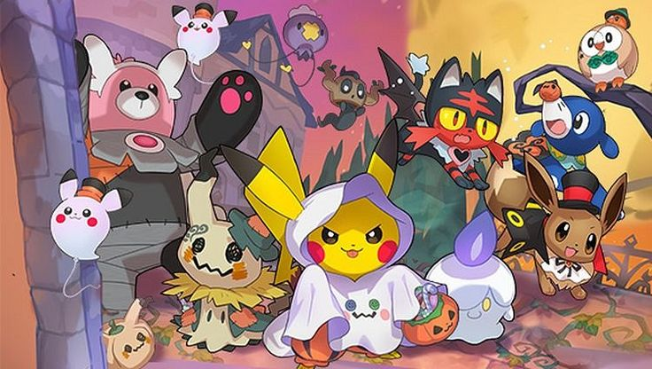Neither GO Pokémon nor Sun and Moon will miss the Halloween party 3DS Android iOS Pokémon GO