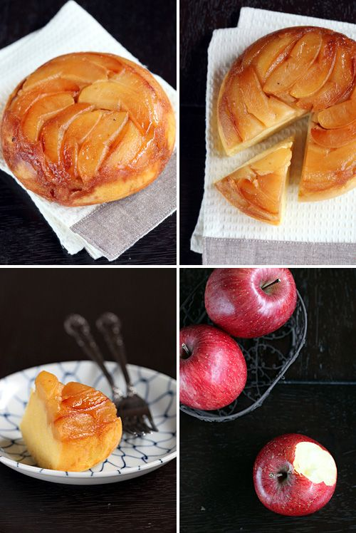 Peel two apples, cut each apple into 8 wedges. In a non-stick pan, heat gently 2 tbsp butter, add the apples, toss them around a little and ...