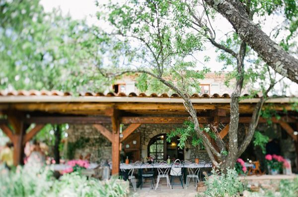 Provence wedding venue // photo by Nadia Meli // view more: http://ruffledblog.com/provencal-lavender-field-wedding