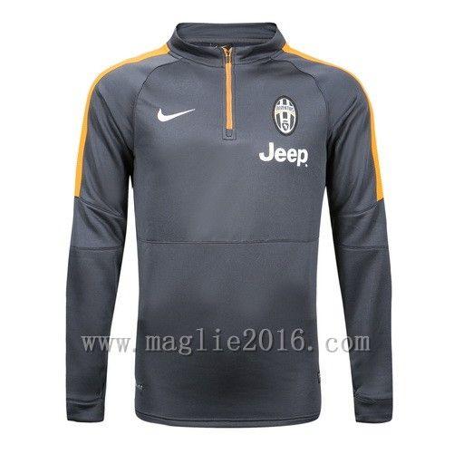 Nike Allenamento Giacca Felpa Grigio Juventus 2016  €25.9