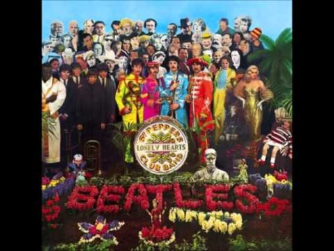 """sgt. pepper's lonely hearts club band""   album"