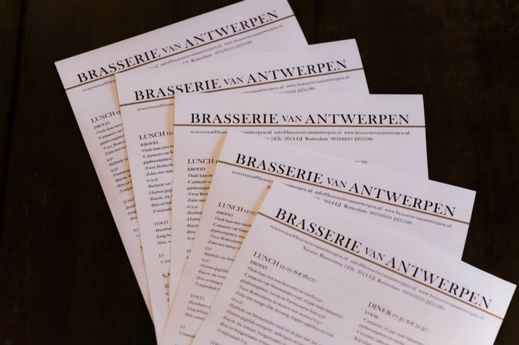 Brasserie van Antwerpen, nieuwe binnenweg Rotterdam