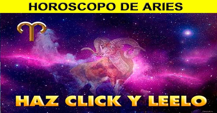 ♈ Horoscopo Diario de Aries – 06 de Agosto de 2017 #HoroscopoAries, #HoroscopoDiario, #HoroscopoHoy
