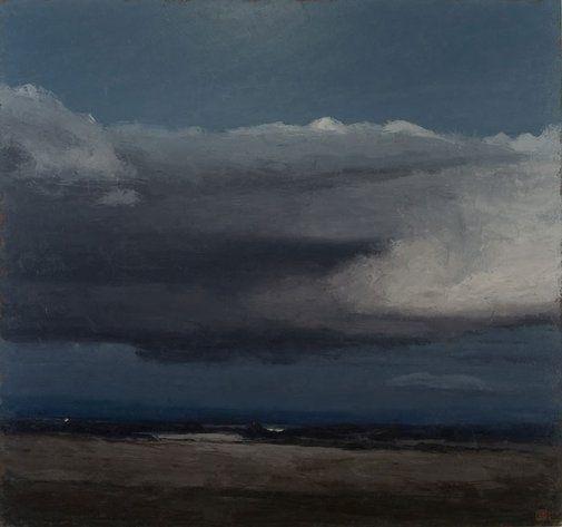Philip Wolfhagen: Winter Nocturne IV :: Wynne Prize 2007 :: Art Gallery NSW