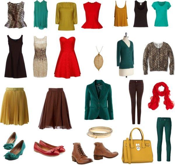 Deep Autumn Capsule Wardrobe