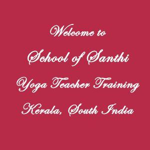 Yoga Teacher Training India February 2014 | School of Santhi Yoga School in Kerala, South India. International Yoga Teacher Certification. 300 hours Yoga TTC 500 part-1 February 2014. Traditional Yoga School India. Authorized by the Indian Government. Recognized by Yoga Alliance USA and Internatonal Yoga Federation.