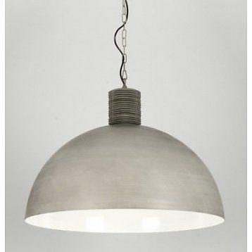 Hanglamp Fabrika Beton Grijs 70cm Ø