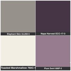 gray, purple, cream bedroom - Google Search