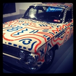 Keith Haring...Car art