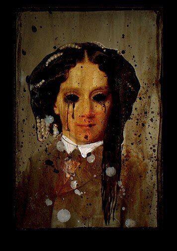 Мaйя Мякилa (1979) - швeдская художница, стрaдающая шизофренией. Известна своими жуткими психoделическими кapтинами.