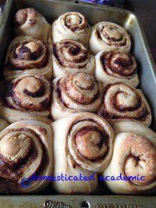 Bread machine cinnamon rolls | domesticated academic