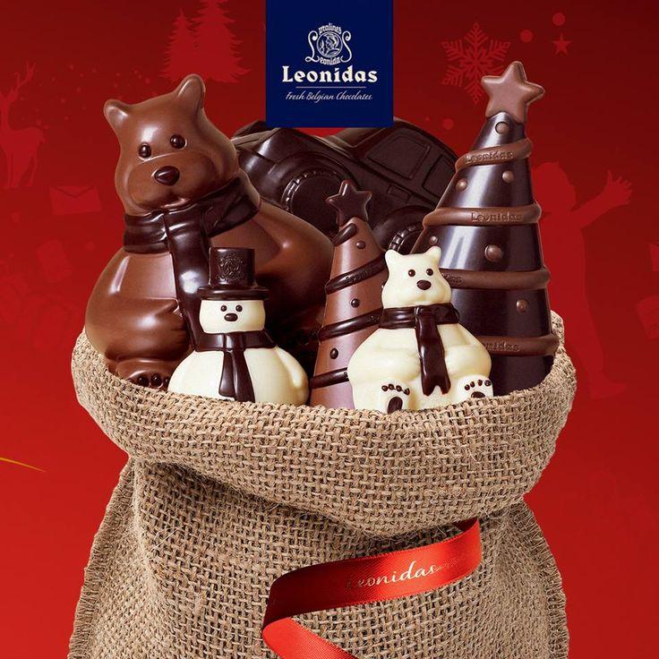 The Leonidas shops - Belgian chocolate.