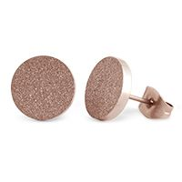 Rose Gold Diamond Dust Stud EarringsA little pop of glitz goes a long way! Wear these little beauties with the Rose Gold Diamond Dust Bangle and Large Rose Gold Diamond Dust Linkable Locket for a look that sparkles and shines.