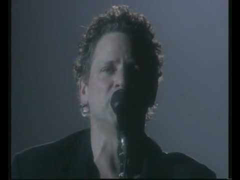 """Lindsey Buckingham performing """"Big Love"""" during Fleetwood Mac's The Dance tour, (1997) / One of the sexiest performances ever from one of the most underrated guitartists of all time."""