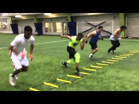 Rapid Response (Power Push-First Step Explosiveness in Ladder) - YouTube