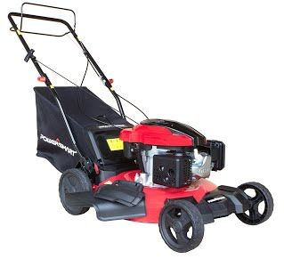 """""""Features & Benefits"""" PowerSmart DB8621S Gas Self Propelled Mower"""