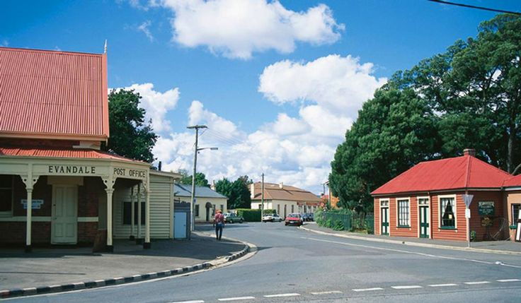 Evandale, TAS - This Georgian village town is on the National Trust for its traditional heritage buildings.