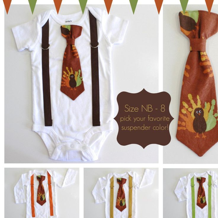 Baby Boy Thanksgiving Outfits. Newborn Boy 1st Thanksgiving. Boys Thanksgiving Shirt. Turkey Tie and Suspenders. Fall Picture Clothes. - http://www.babies-clothes.info/baby-boy-thanksgiving-outfits-newborn-boy-1st-thanksgiving-boys-thanksgiving-shirt-turkey-tie-and-suspenders-fall-picture-clothes.html