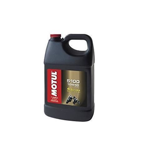 Snowmobile Parts 23834: Motul 5100 Ester Synthetic Engine Oil 10W-40 - 1 Gallon 3081Gaa 108086 -> BUY IT NOW ONLY: $38.47 on eBay!