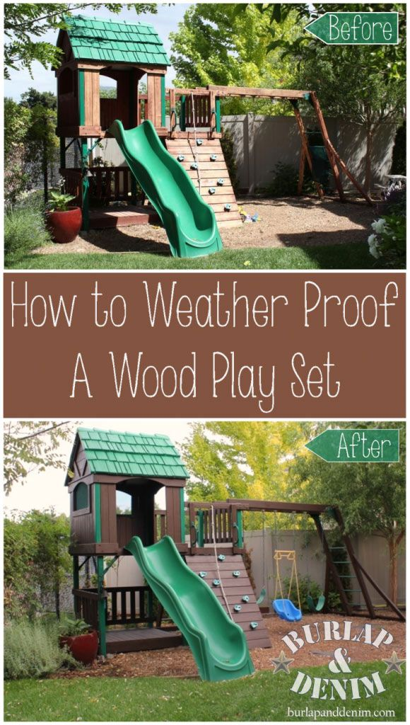 Best Paint Or Stain For Picnic Table And Playground Equipment
