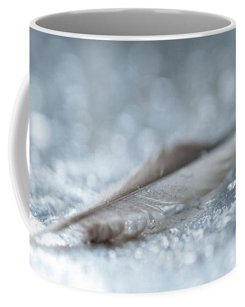 Jenny Rainbow Fine Art Photography Coffee Mug featuring the photograph On The Silver Bed by Jenny Rainbow