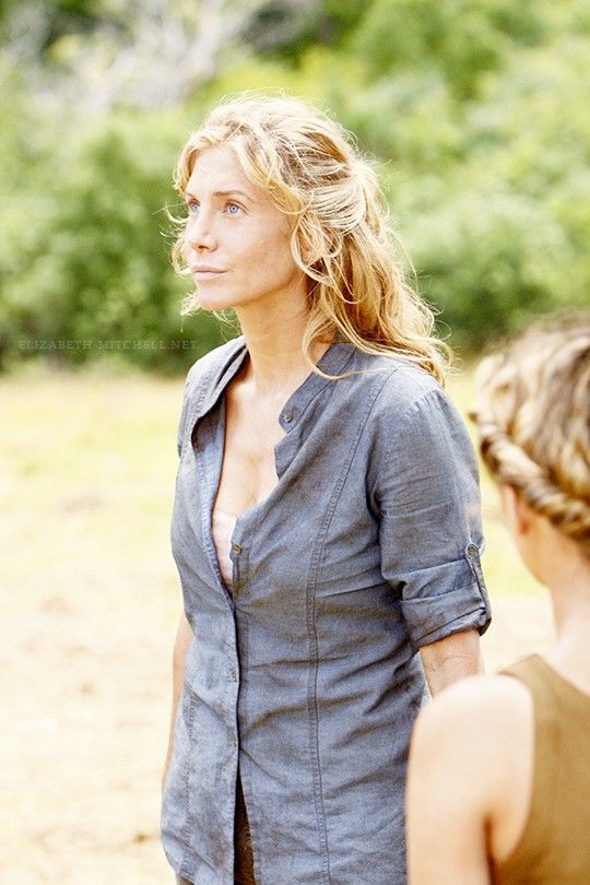 Elizabeth Mitchell the film in visitors blonde actress