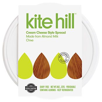 Addicted to this Chive Cream Cheese. Our Whole Foods had it, but now it must be special ordered :(