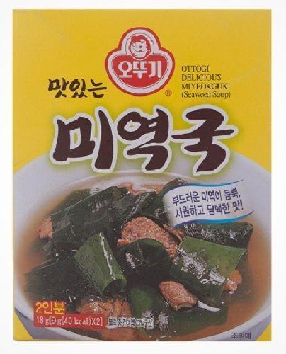 Ottogi Quick & Easy Instant Seaweed Korean Dried Soup Mi-Yok Guk #Ottogi