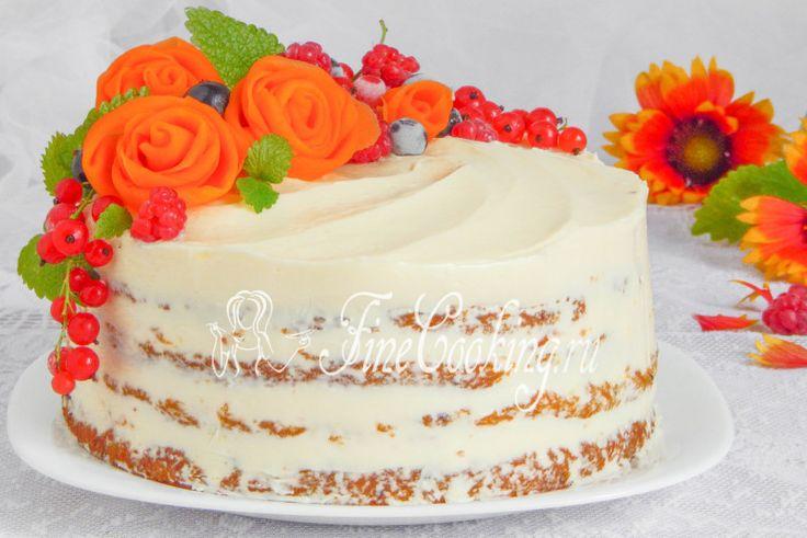 Морковный торт - рецепт с фото