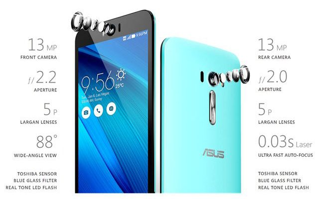 Harga Asus ZenFone Selfie, Spesifikasi Asus ZenFone Selfie