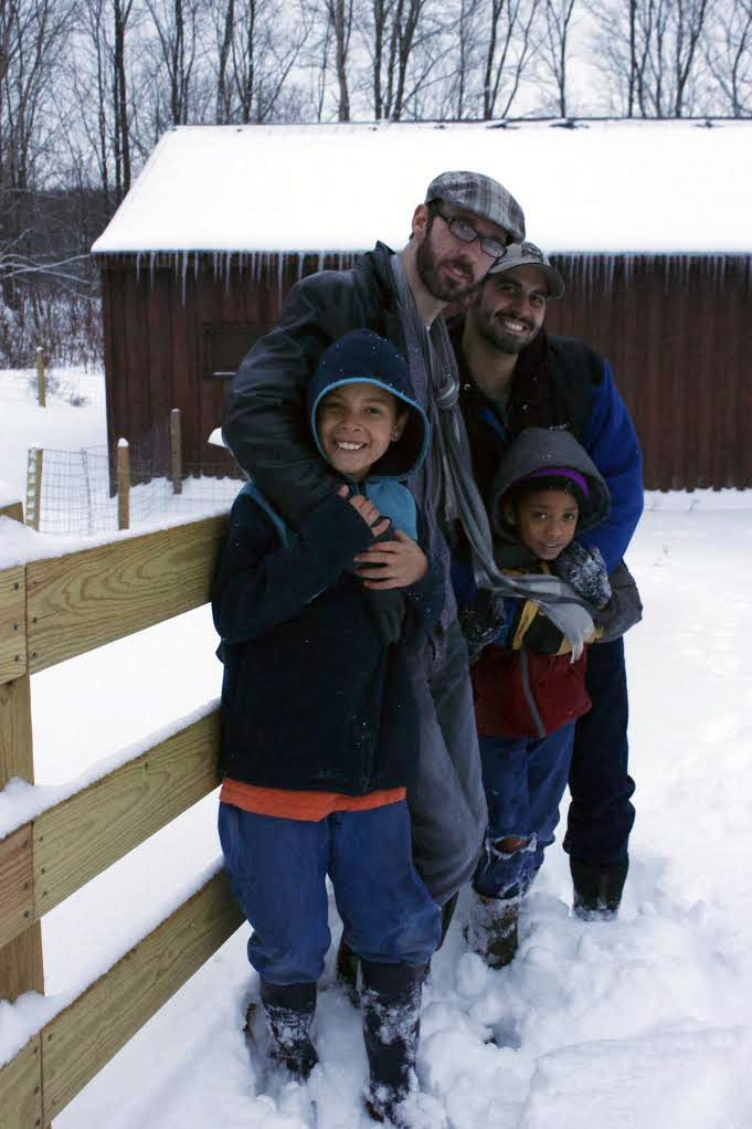 Winter Whimp Farm Family