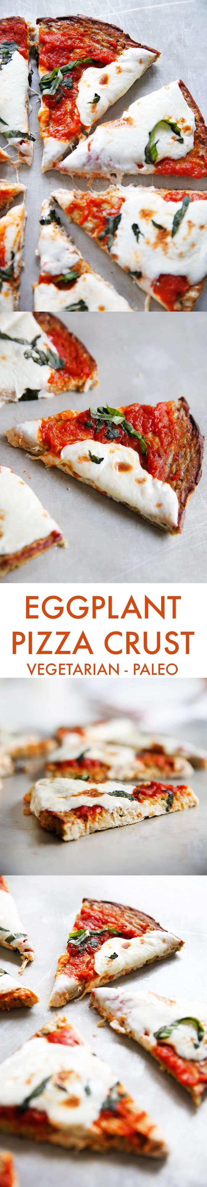 Paleo Eggplant Pizza Crust - Lexi's Clean Kitchen