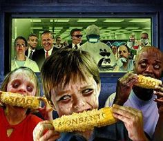 The 10 most cancer causing foods - Underground Health~ Scary picture but I wanted to  remember it. We never eat microwave popcorn but I was glad to see this about it. So much yucky out there!