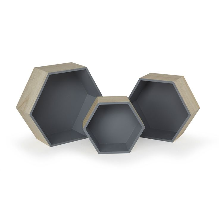 etagere hexagonale